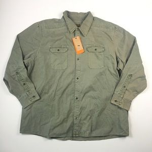 Field And Stream Army Shirt XXXL A2217